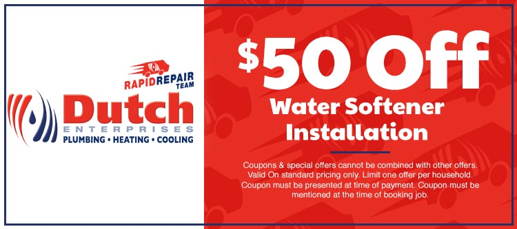 discount on water softener installation in Cape Girardeau, MO