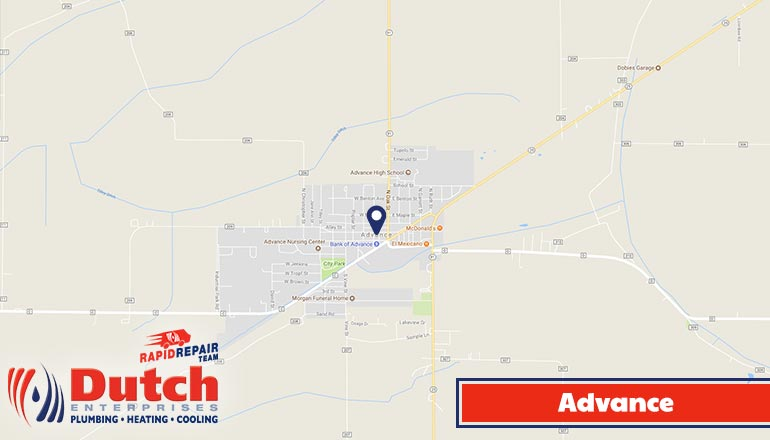 Dutch Enterprises - plumbing, heating, and air conditioner services in Advance, MO