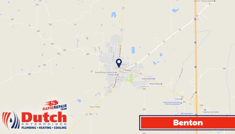Dutch Enterprises - plumbing, heating, and air conditioner services in Benton, MO