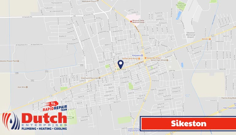 Dutch Enterprises - plumbing, heating, and air conditioner services in Sikeston, MO
